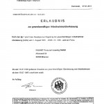 Arbeitnehmerüberlaubnis Stand 27.01.2011